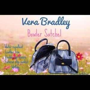 Vera Bradley Bowler Satchel